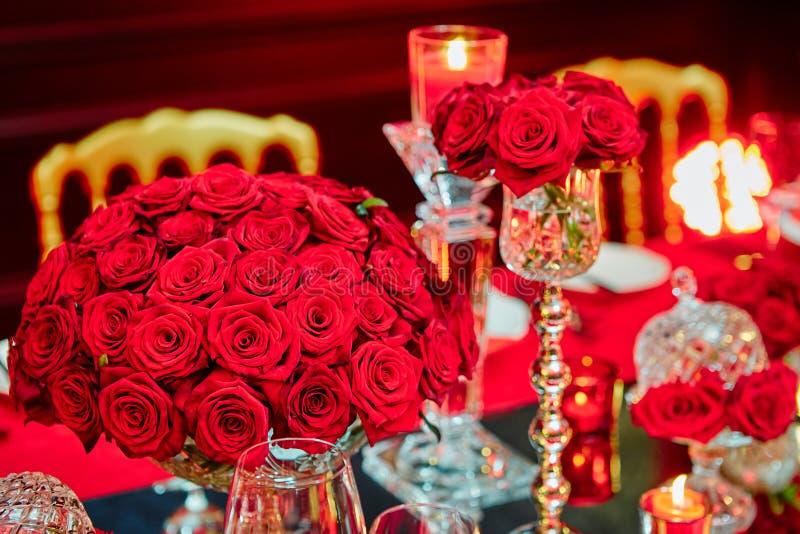 Ensemble de Tableau pour épouser ou un événement approvisionné différent photo stock