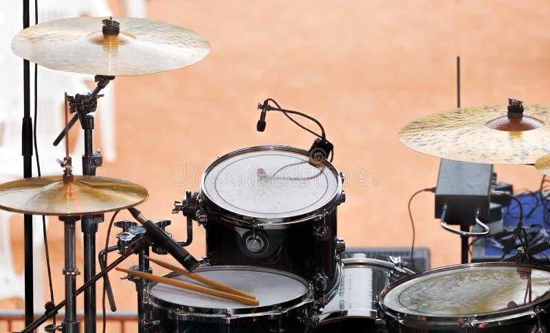 Ensemble de tambour photos stock