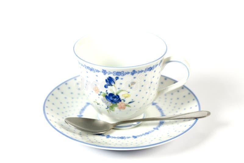 Ensemble de tasse de thé chinoise d'isolement sur le blanc photos libres de droits