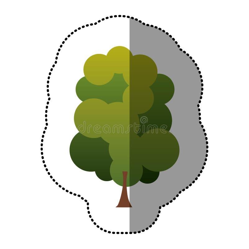 Download Ensemble De Timbre De Couleur D'icône Abstraite D'arbre Illustration Stock - Illustration du conception, fond: 87705047