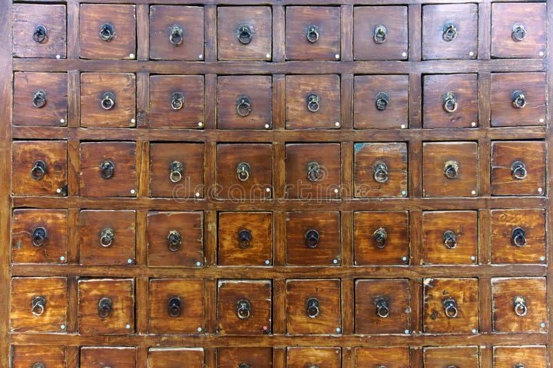 Ensemble de tiroirs photos stock