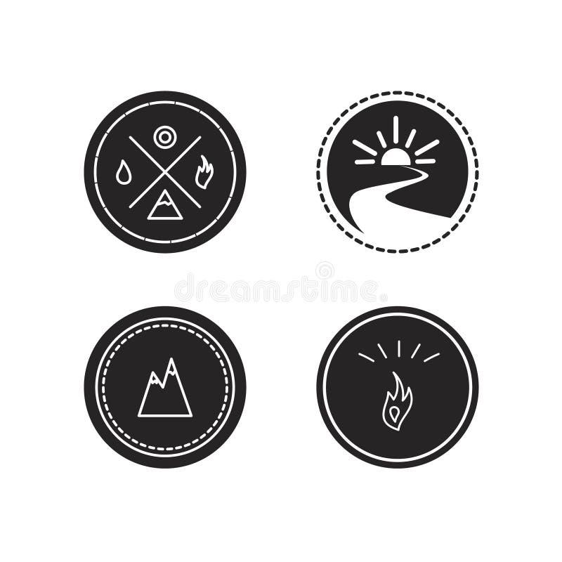 Download Ensemble De Vecteur De Logotypes D'écologie Illustration Stock - Illustration du santé, énergie: 56482620