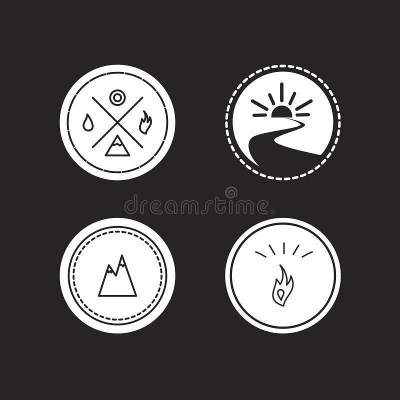 Download Ensemble De Vecteur De Logotypes D'écologie Illustration Stock - Illustration du marque, moderne: 56482652