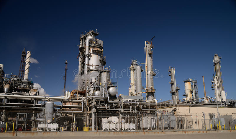 Ensemble industriel photo stock