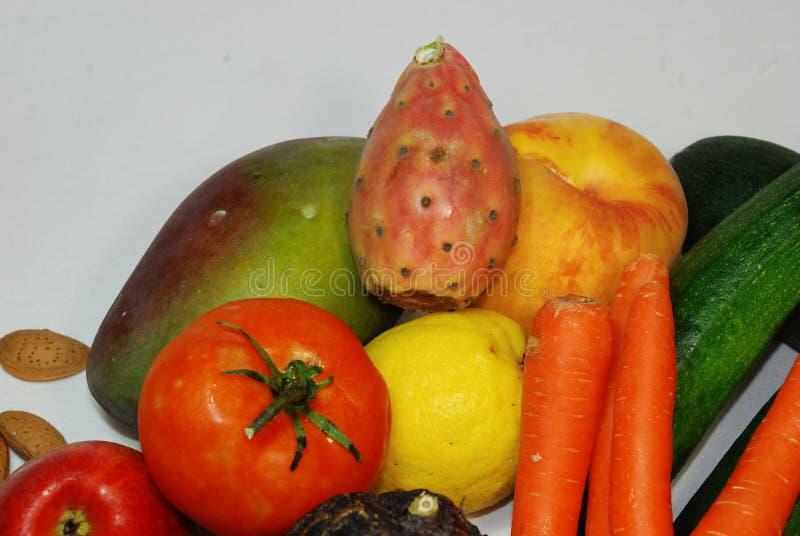 Ensemble int?ressant de fruit m?diterran?en typique photo stock