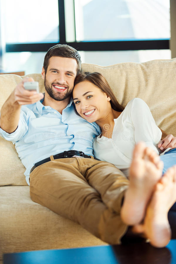ensemble observation de TV images libres de droits