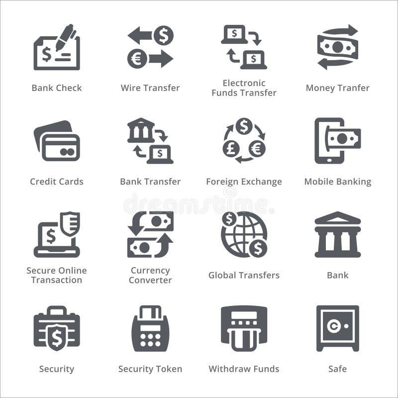 Ensemble personnel et d'affaires de finances d'icônes d'icône de conception - vecteur photo stock