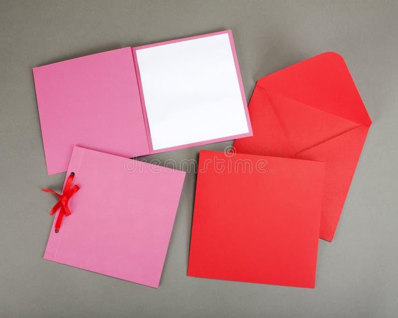 Ensemble romantique de conception Pour être employé pour des cartes postales, invitations, carte photographie stock libre de droits