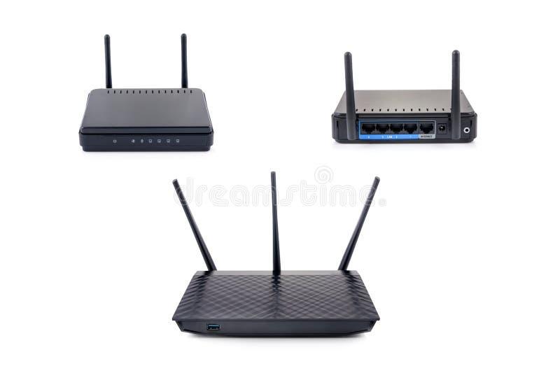 Ensemble sans fil de routeur photo stock