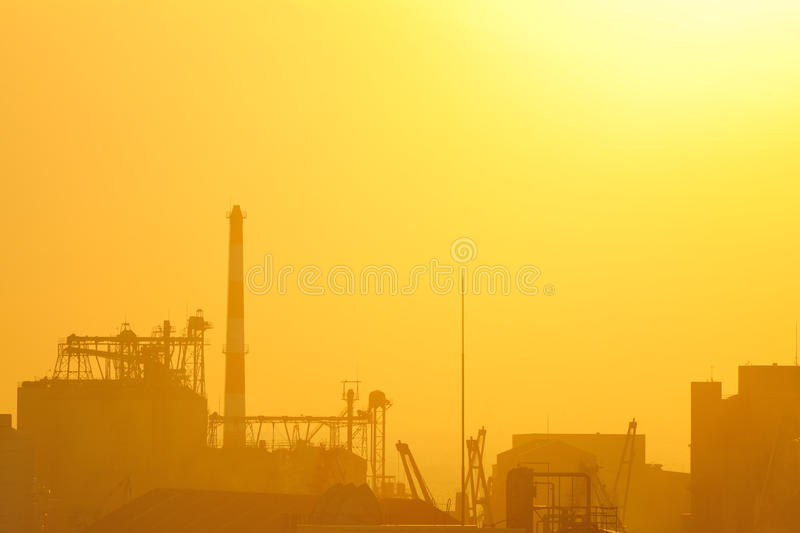 Ensembles industriels photos stock