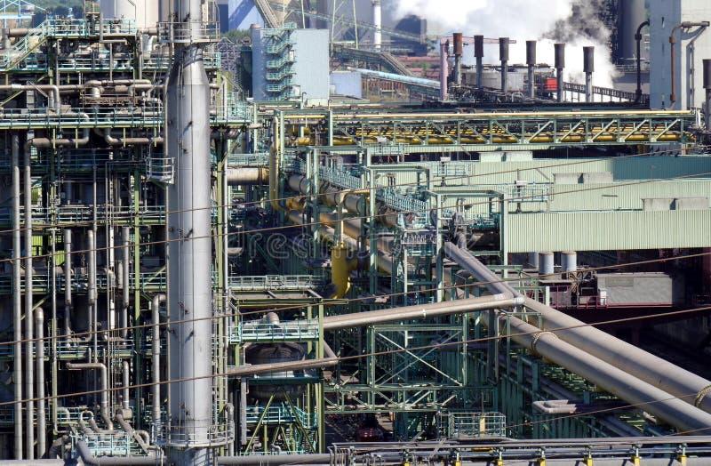 Ensembles industriels de tabagisme photo libre de droits