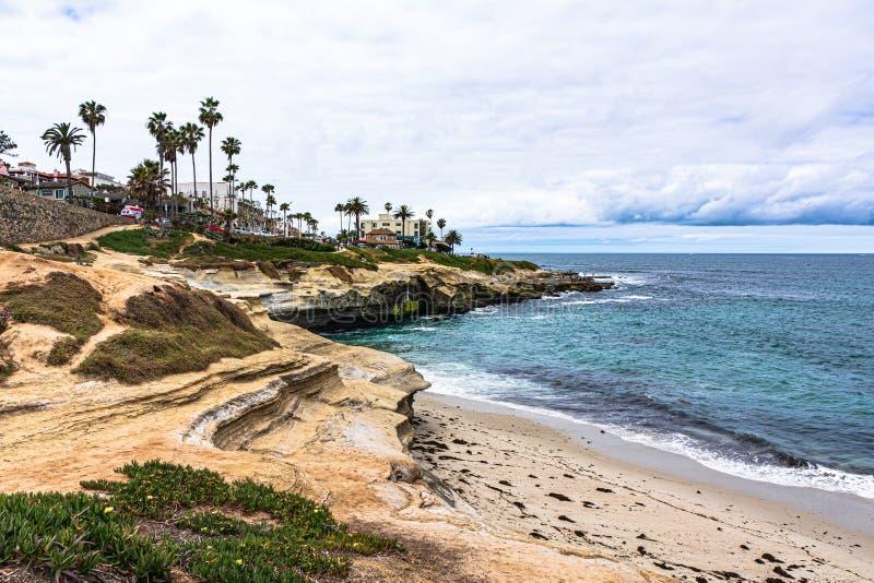 Ensenada de La Jolla, San Diego, California fotos de archivo libres de regalías