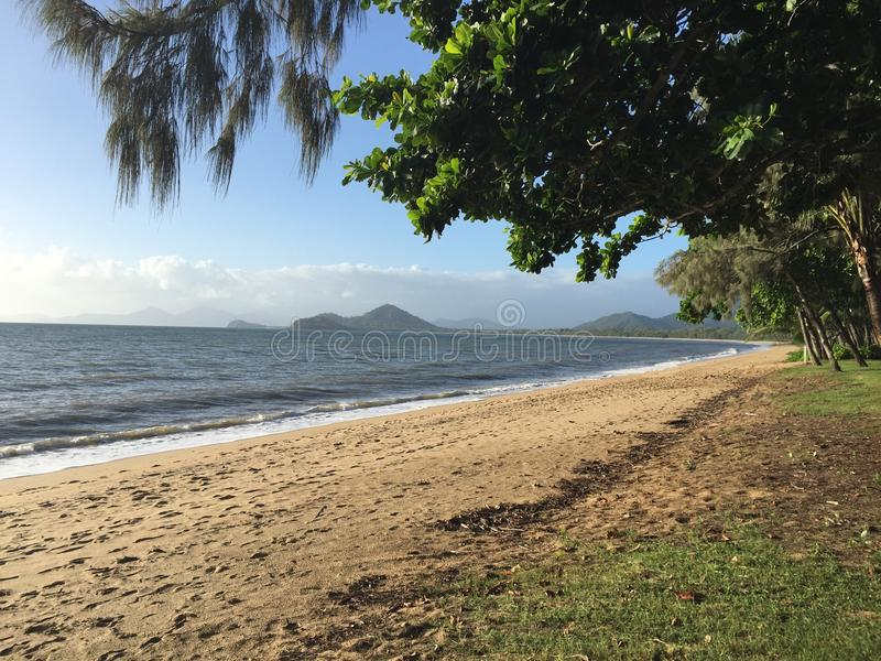 Ensenada de la palma, Australia imagen de archivo libre de regalías