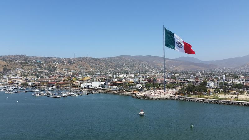 Ensenada Mexico royaltyfri fotografi
