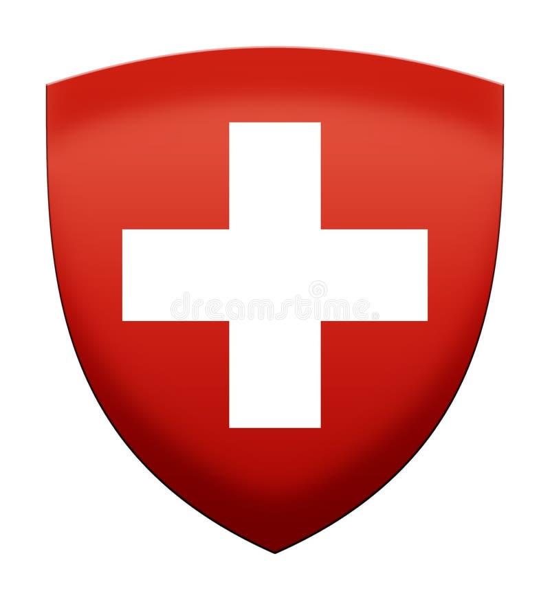 ensign Ελβετός απεικόνιση αποθεμάτων