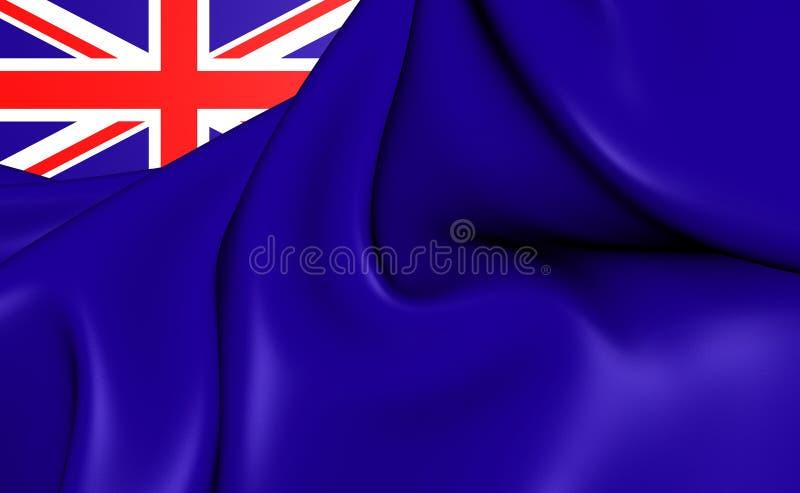 Ensign правительства Великобритании иллюстрация вектора