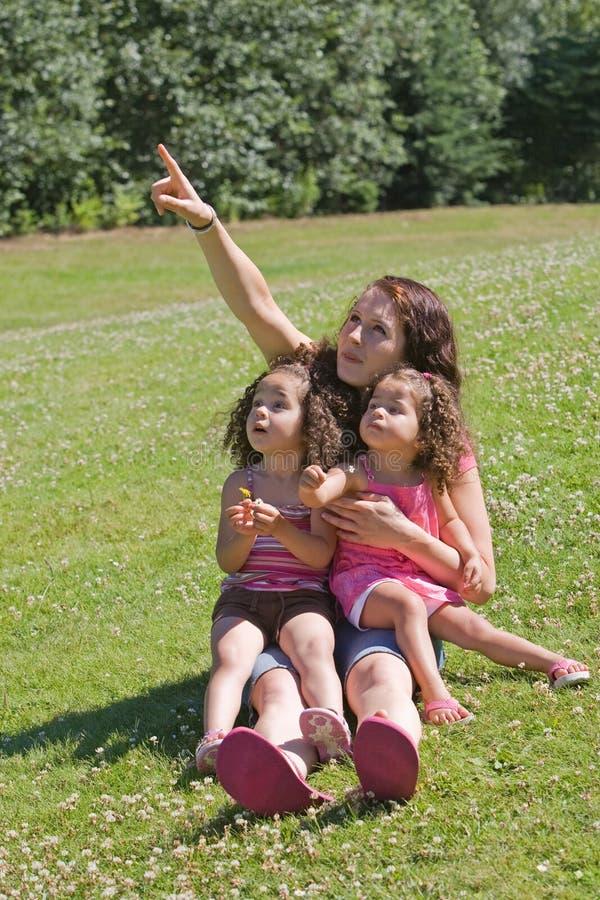 Ensinando nossas crianças foto de stock