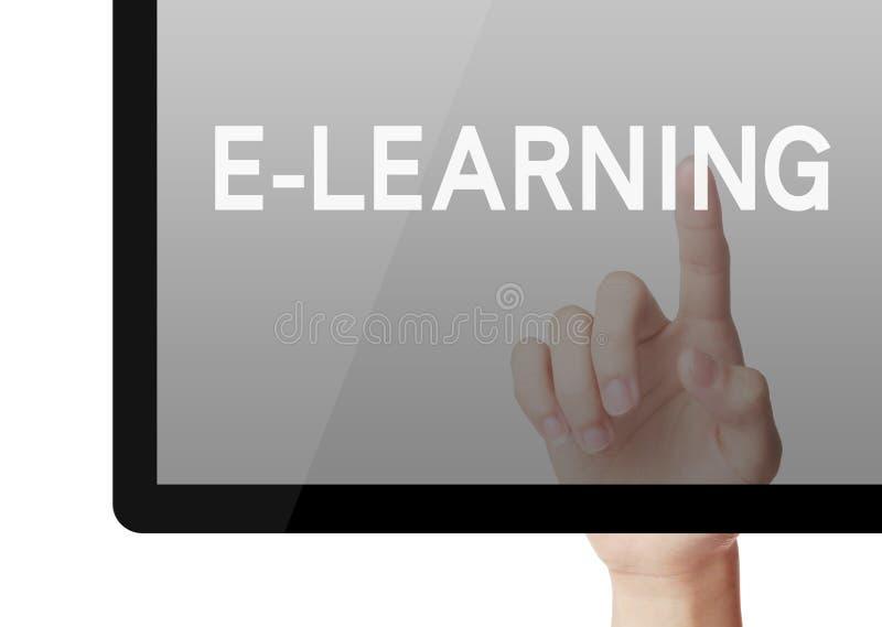 Ensino eletrónico foto de stock royalty free