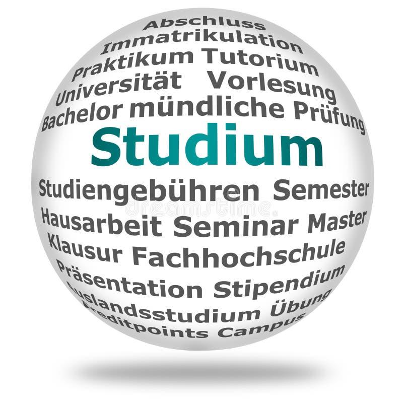 Ensino superior de Studium/ imagens de stock royalty free