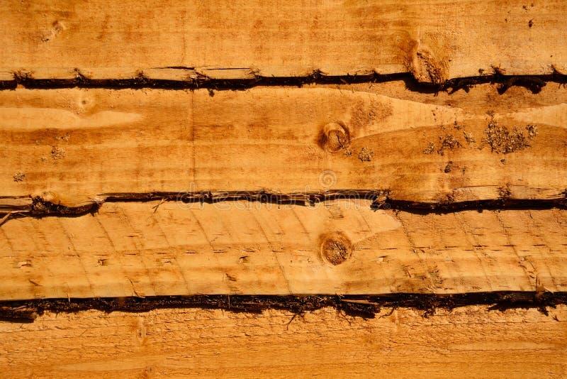 New pence panel. New wooden horizontal fence panel background stock image