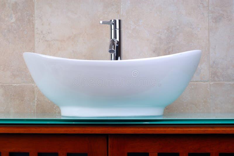 ensuite ванной комнаты стоковое фото rf