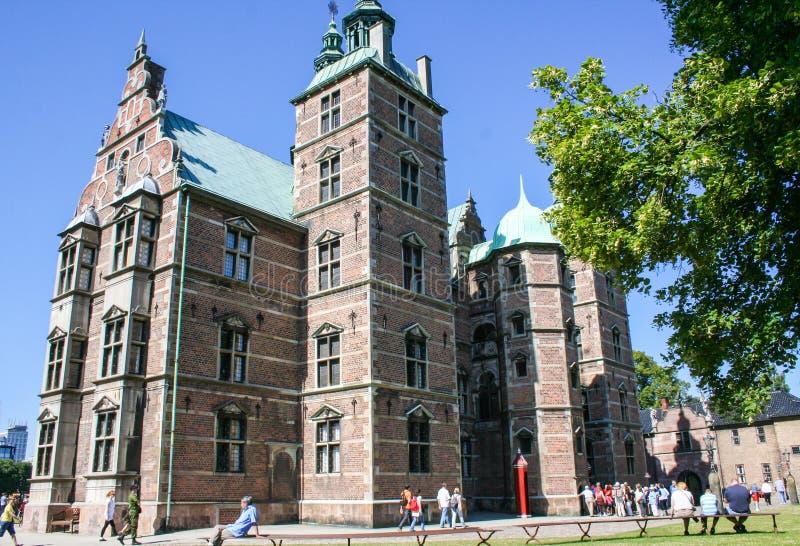 Entalhe de Rosenborg fotografia de stock