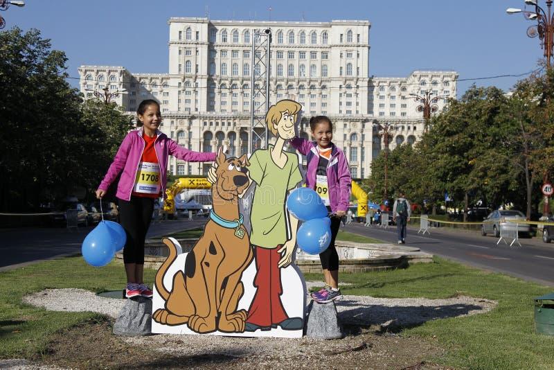 Entalhe Scooby-Doo imagem de stock