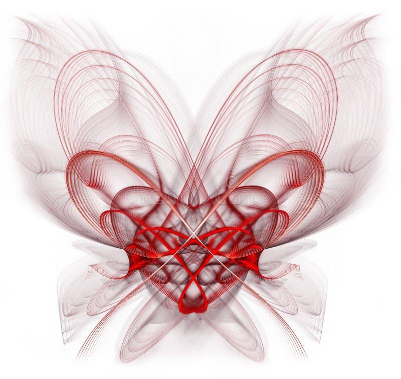 Entangled Heart stock photography