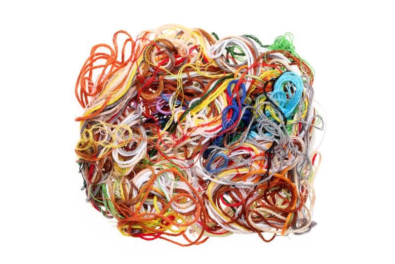 Entangled Threads Stock Image