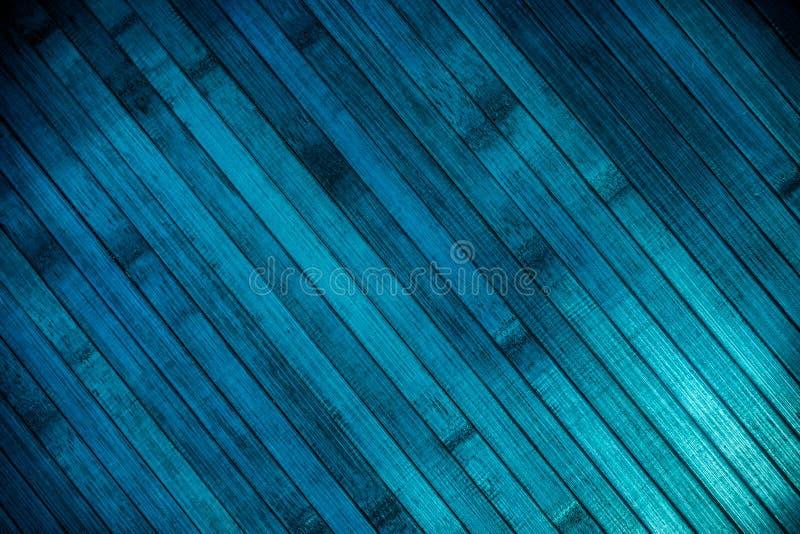 Entarimado de madera azul imagen de archivo