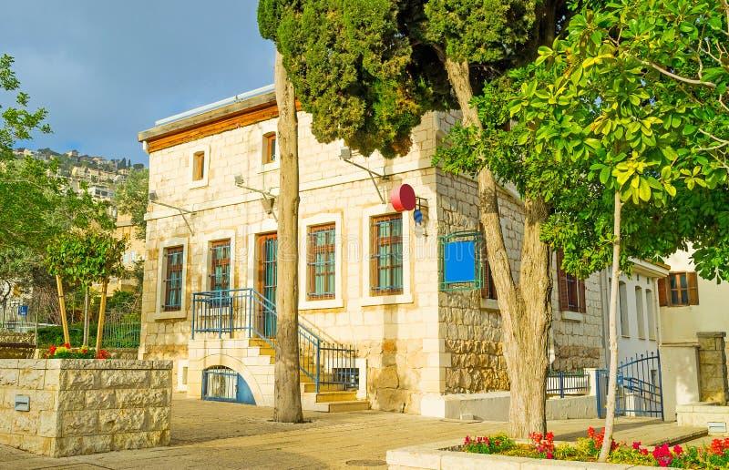 Entdeckung von altem Haifa lizenzfreie stockfotografie