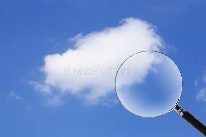 Entdeckung-Wolke lizenzfreies stockbild