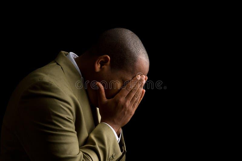 Entendez-moi seigneur et répondez à ma prière image stock