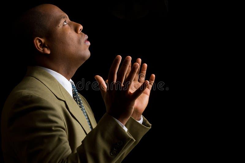 Entendez-moi seigneur et répondez à ma prière images stock
