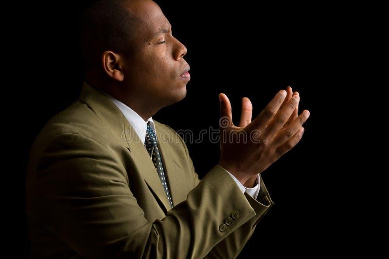 Entendez-moi seigneur et répondez à ma prière photos libres de droits