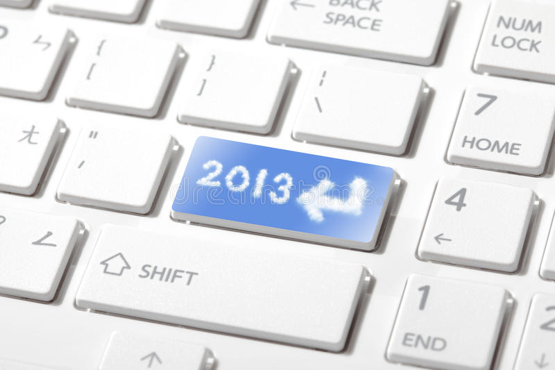 Enter 2013 happy new year stock images
