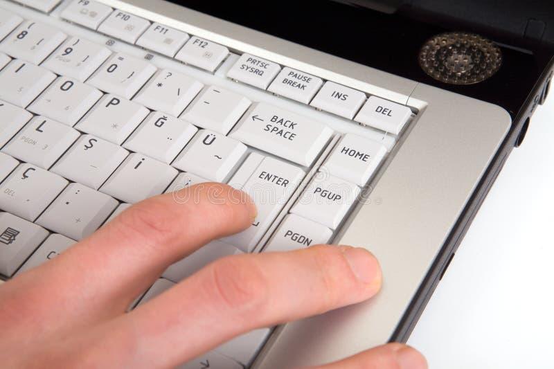 Download Enter Key stock image. Image of commerce, hand, design - 4477345