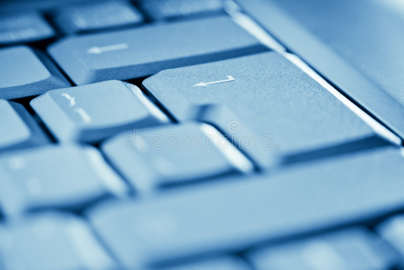 Enter key on laptop stock images