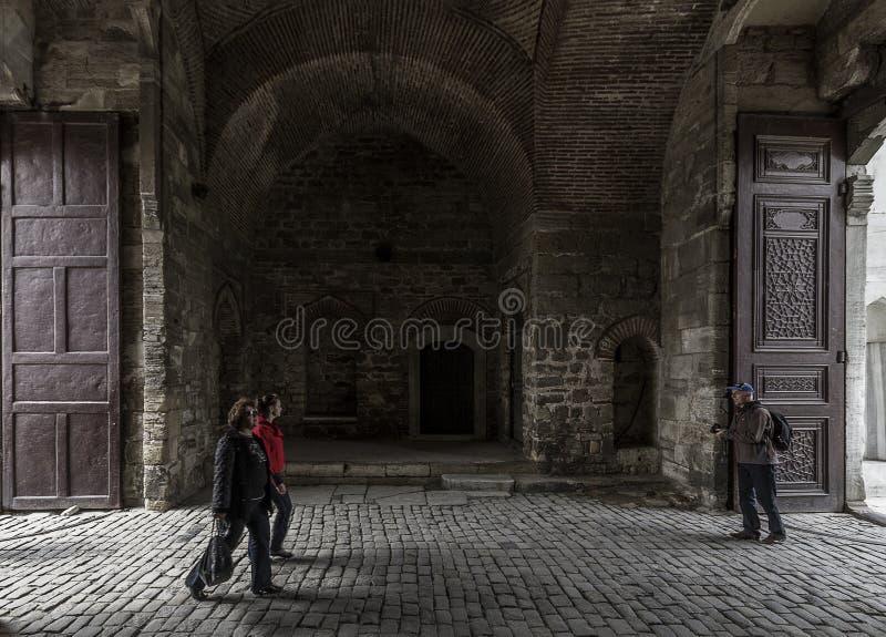 Enterance παλατιών Topkapi στοκ εικόνες