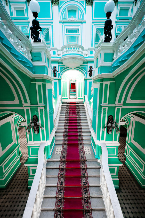Enterance in russian palace royalty free stock photo