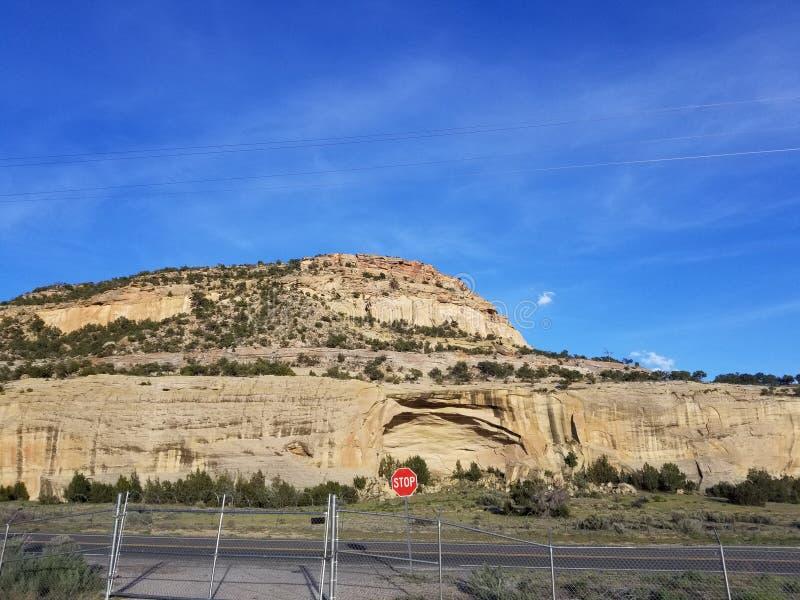 Entering New Mexico royalty free stock photo