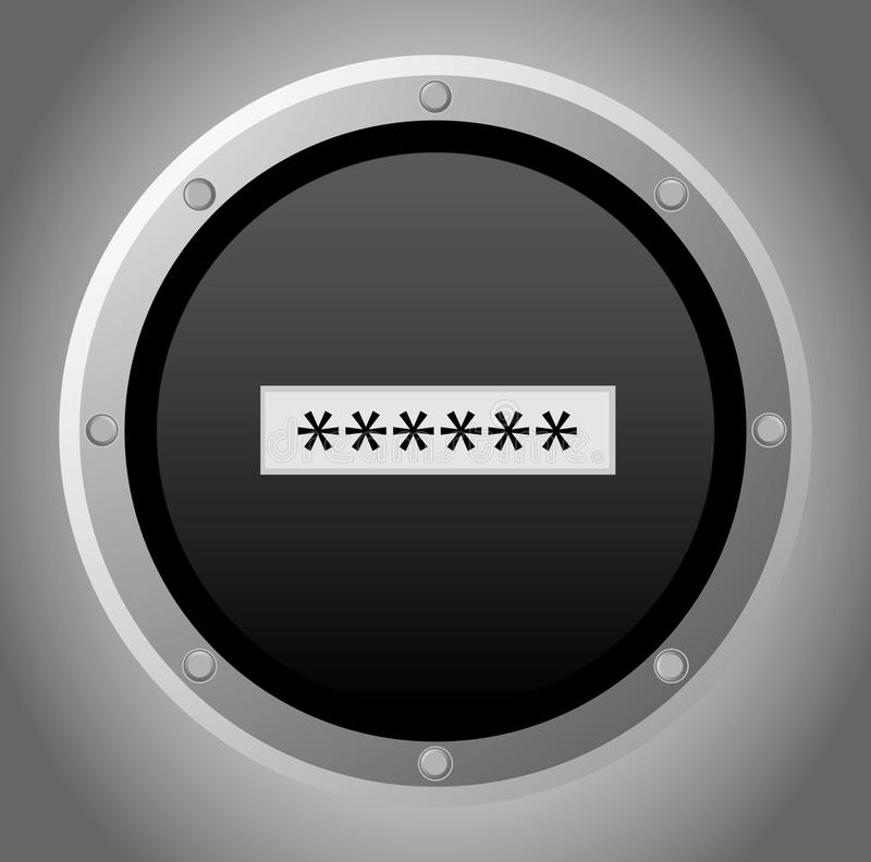 Download Entering the password stock vector. Image of login, interface - 31912731