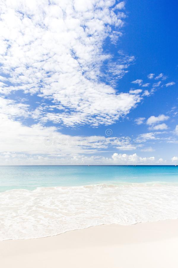 Enterprise Beach, Barbados, Caribbean. Outdoor, outdoors, outside, exterior, exteriors, america, central, greater, antilles, lesser, west, indies, island stock photography