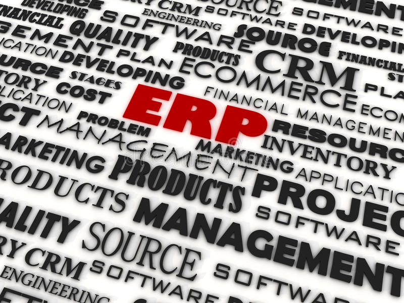Download Enterprise Resource Planning Stock Illustration - Image: 23305833