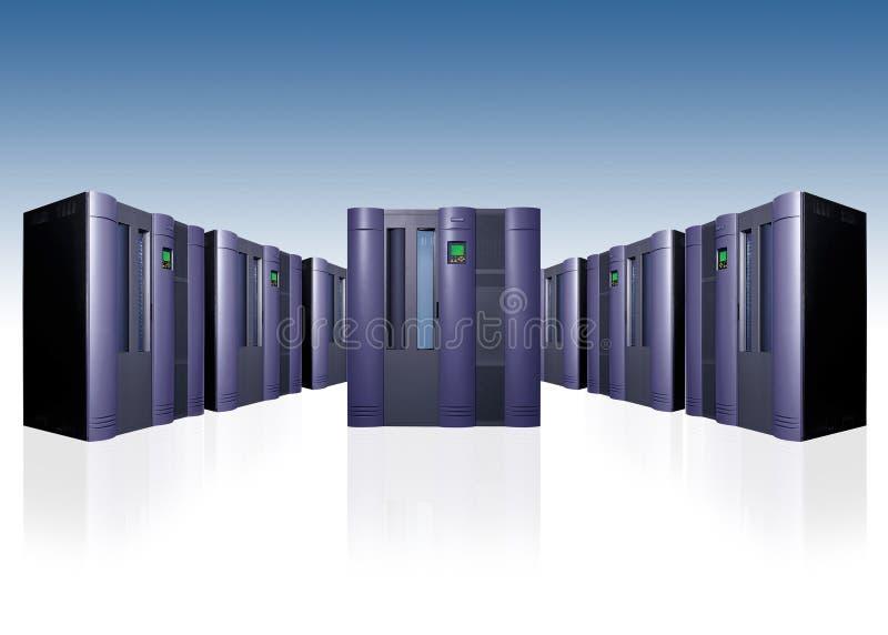 Enterprise Server Farm Stock Photos