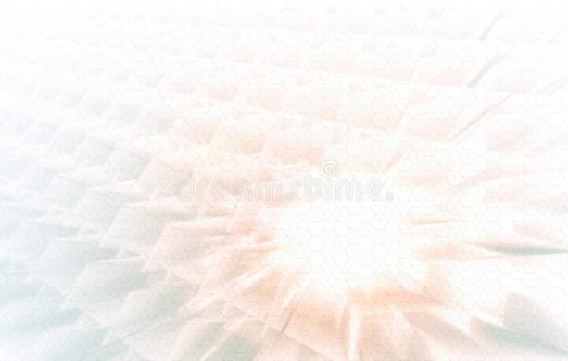 Enterprise Tech. Geometric Background for Technology Enterprise stock image