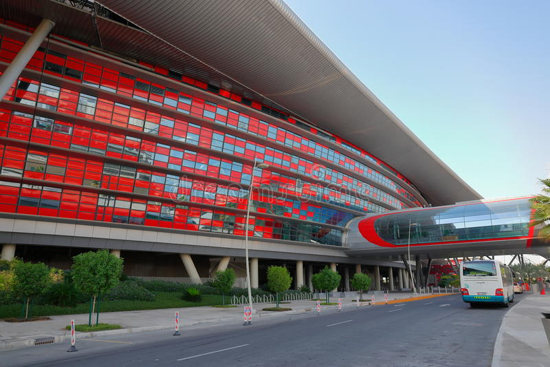 Entertainment Center Ferrari World In Abu Dhabi Editorial ...