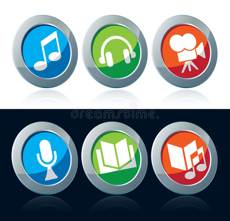 Download Entertainment icon stock vector. Image of collection - 27982853