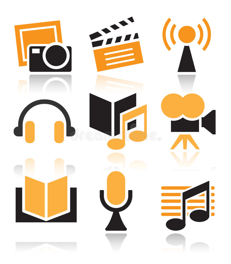 Free Entertainment Icon Royalty Free Stock Photography - 29759777