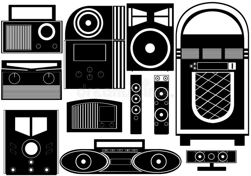 Download Entertainment objects stock vector. Image of party, illustration - 26981031